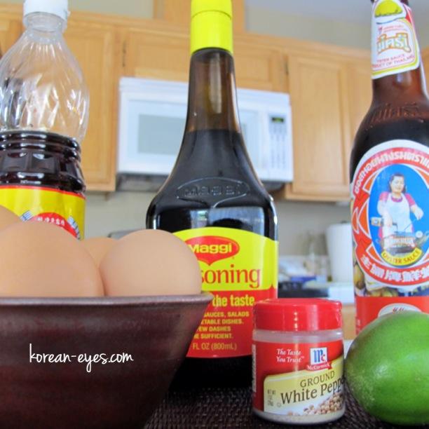 Thai Style Omelet (Khai Jiao)   Korean Eyes